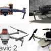 Parachutes pour DJI Mavic 2 Pro and Mavic 2 zoom